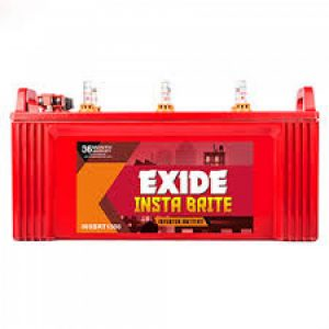 Exide Instabright 1000 100AH Battery