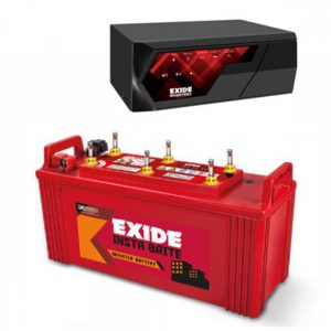 EXIDE MAGIC 825VA HOME UPS INVERTER + Exide INSTA BRIGHT 1500 (150Ah)