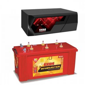 EXIDE MAGIC 825VA INVERTER + EXIDE INVAMASTER IMST1500 150Ah BATTERY