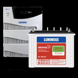 LuminiosHome UPS 5.2 kVA Cruze+ +150 Ah RC18000 Battery Combo