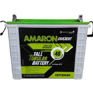 Amaron Current CR200TT 200AH Tall Tubular Battery