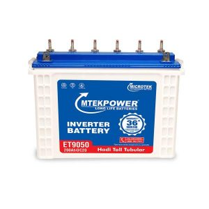 Microtek ET 9050 200AH Mtek power Tall Tubular Inverter Battery