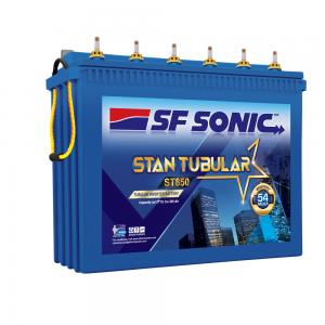 SF Sonic Stan Tubular -FST0-ST850 Inverter Battery