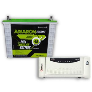 Microtek 1200VA Inverter + Amaron 150AH Battery Combo