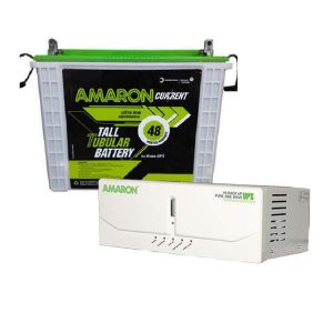 Amaron 150AH Battery + 880VA Inverter Combo