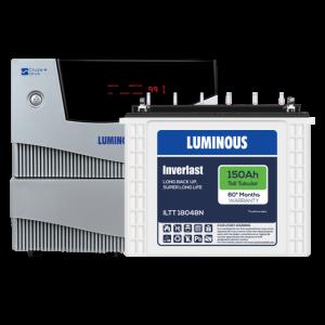 Luminous Home UPS 2 kVA Cruze+ +150 Ah ILTT 18048N Battery Combo
