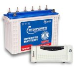 Microtek 1200VA Inverter + 150AH Battery Combo 1