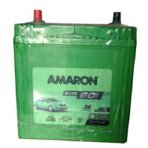 Amaron GO AAM-GO-0BH38B20R 35Ah Car Battery