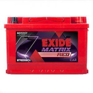 Exide Matrix Red MTREDDIN74 Car Battery