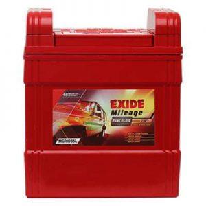 Exide Mileage Grid MGRID35R 35Ah Car Battery