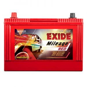 Exide Mileage Red MRED105D31L 85Ah Car Battery