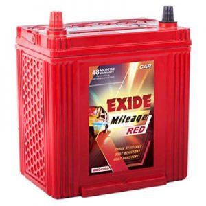 Exide Mileage Red MRED55D23L 55ah Car Battery