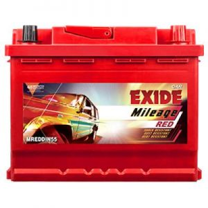 Exide Mileage Red MREDDIN55R 55ah Car Battery