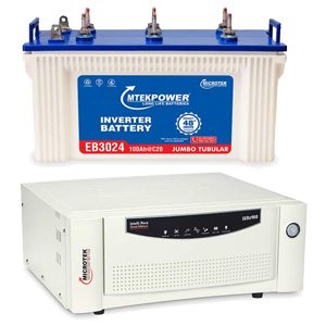 Microtek 900VA with 100Ah Battery Combo Chennai