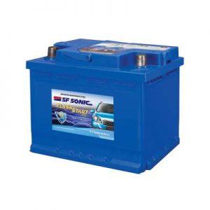 SF Sonic Flash Start 55Ah FS1440-DIN55 Car Battery